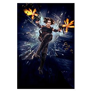 Resident Evil. Размер: 20 х 30 см